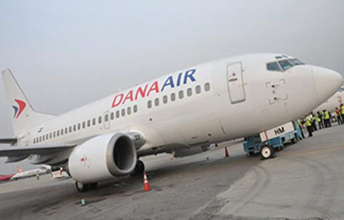 Dana Air forced to disembark passengers, blocks runway due to technical hitch
