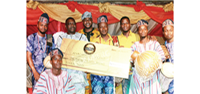 GOLDBERG EXCELLENCY TOUR: How Otapo Bata drummers emerged winner of cultural contest