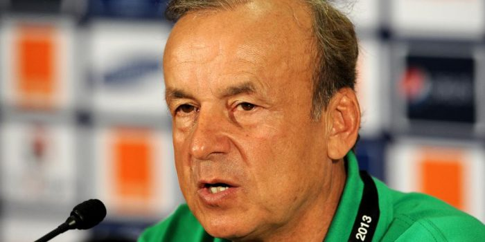 Super Eagles' final list was difficult- Rohr