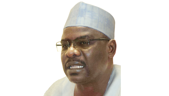 Sen. Ndume weeps as he urges IDPs to return home