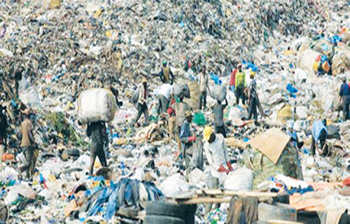 Managing waste via technologies