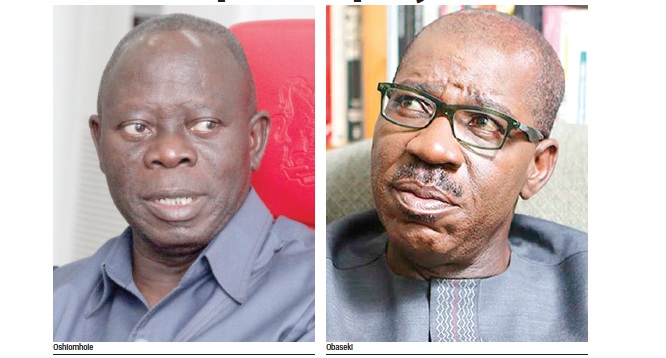 Obaseki insists no attack on Oshiomhole