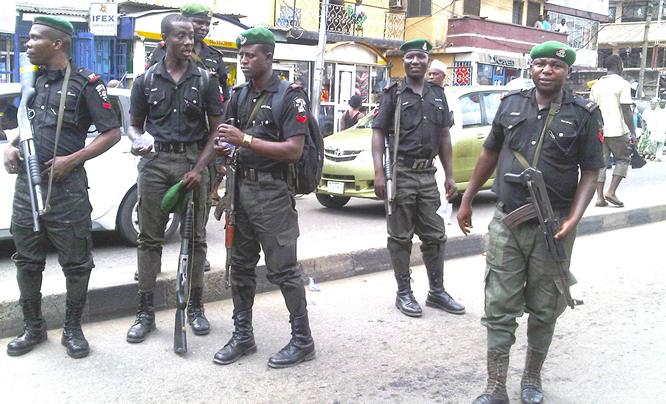 Police arrest, parade 13 suspected kidnappers