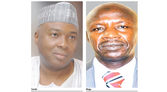 Saraki: Why we couldn't confirm Magu as EFCC boss