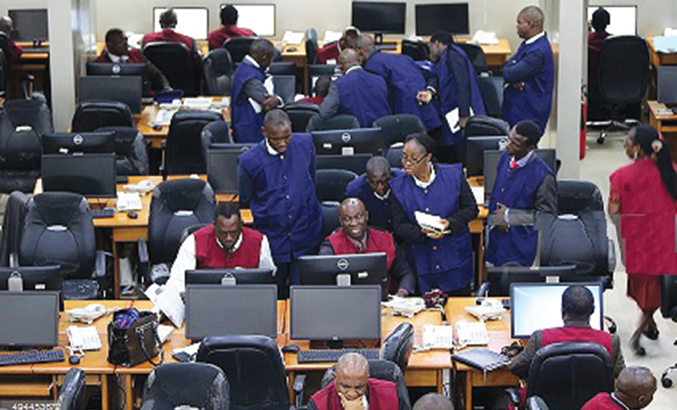 NSE: Equities drop 0.16% to reverse gain