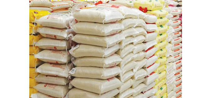 Ebonyi impounds smuggled trailers of rice