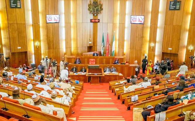 #9th Assembly: Lawmakers-elect, family members storm NASS