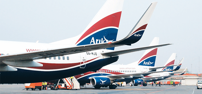 Arik Air resumes flights to Owerri