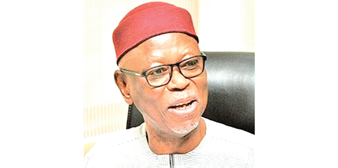 Oyegun to APC NWC: Bury your heads in shame