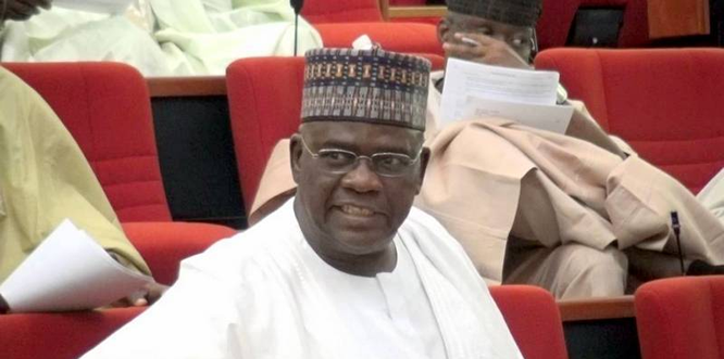 Senate Presidency: Senator Goje steps down for Lawan