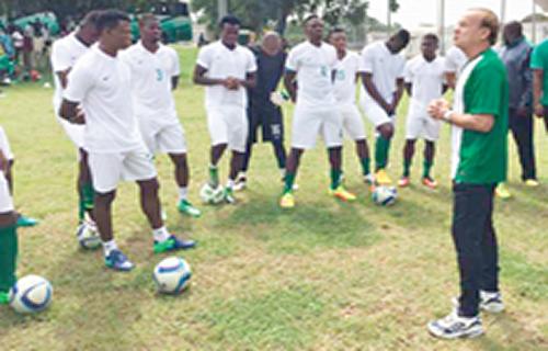 Ogu, Onyekuru doubtful as Eagles camp opens in France