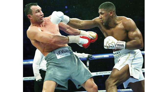 How I will trounce Ruiz –Joshua