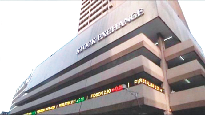 Financial services sector leads NSE's fall