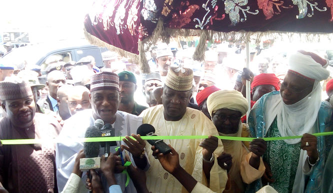 Commissioning of Command Secondary School in Talata-Mafara