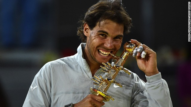 Nadal gets emotional after US Open win