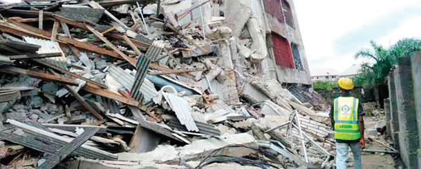 One dies, many trapped in Abuja building collapse