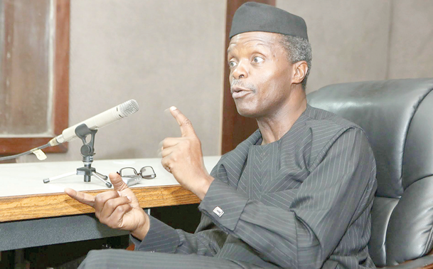 How we reclaimed four guber seats from PDP - Osinbajo
