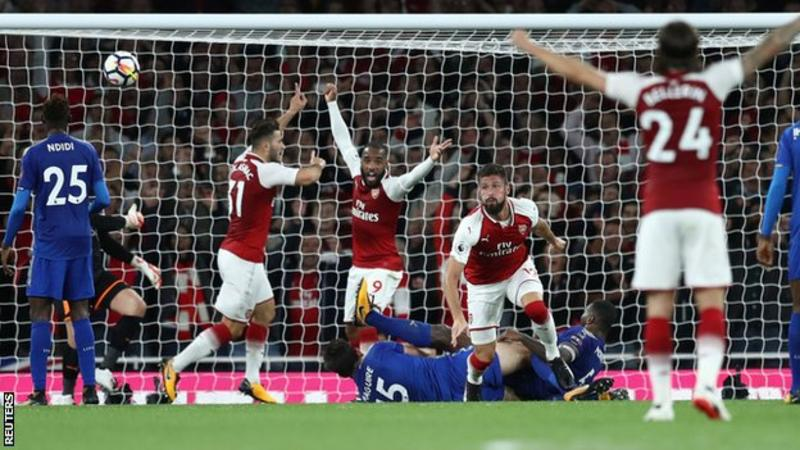EPL: Leicester City show Arsenal maximum superiority