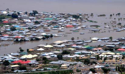 Flood destroys 1,000 buildings, crops in Edo