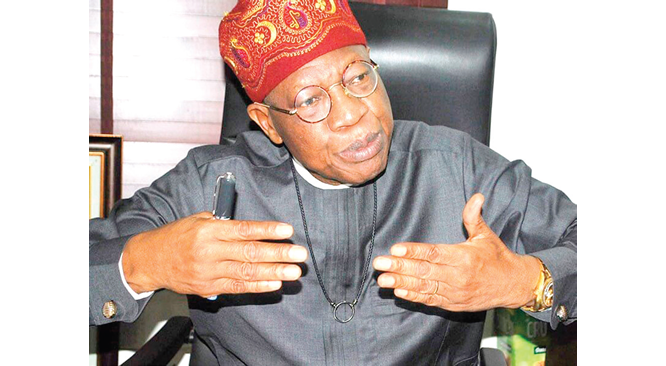 Executive Order 6, not political witch-hunt – Lai Mohammed