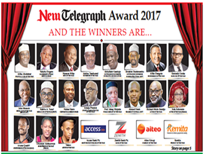 Igbere union lauds New Telegraph over awards
