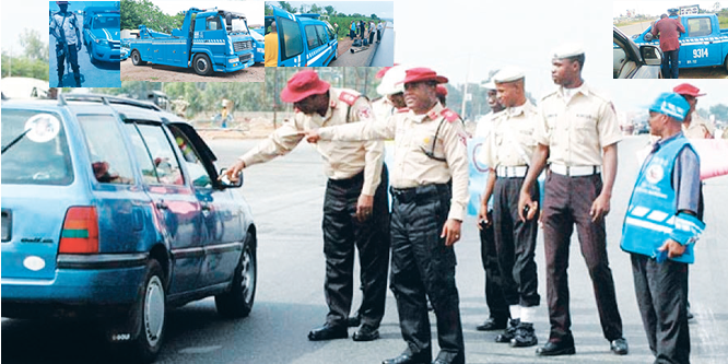 Don't give money to their staffs, FRSC warns motorists