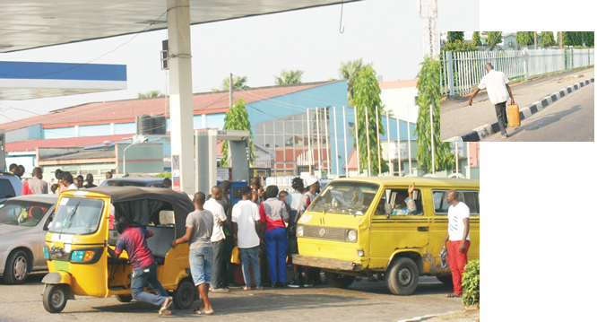 Nigerians groan as fuel scarcity bites harder