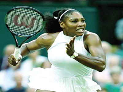 Serena powers into Wimbledon final