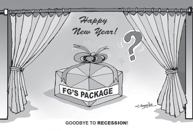 FG's pathetic Christmas, New Year gift
