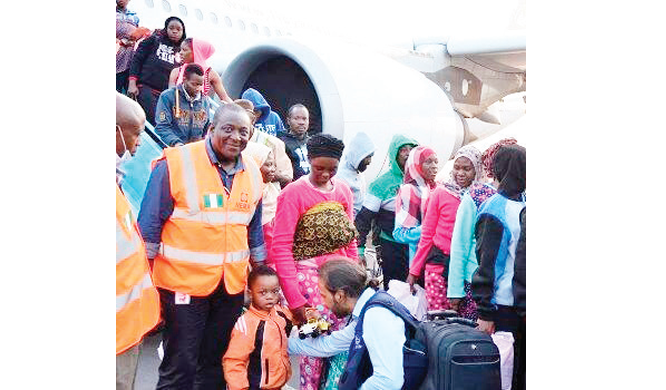 Libya returnees protest against poor welfare