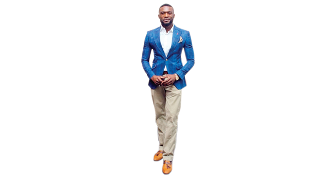 Kenneth Okolie: Good-looking dude
