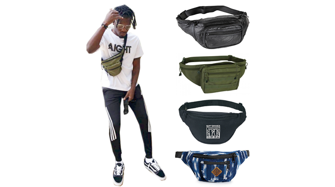 Trend alert: Stylish Fanny pack