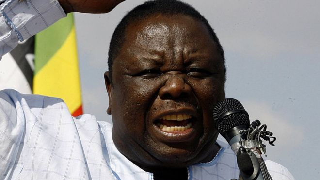 Zimbabwe opposition leader Morgan Tsvangirai dies aged 65