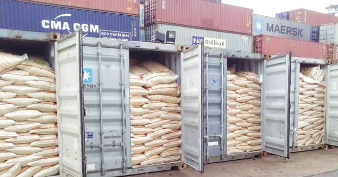 Court freezes companies' 45 bank accounts over rice smuggling