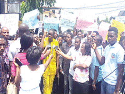 UTME candidates protest exam date, seek postponement
