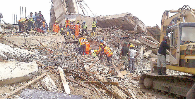 Unending collapsed building trials
