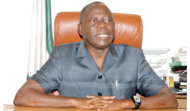Oshiomhole, NWC members arrive Benin for rally