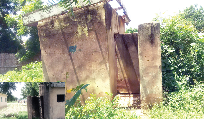 Threatened by shortage of toilet facilities