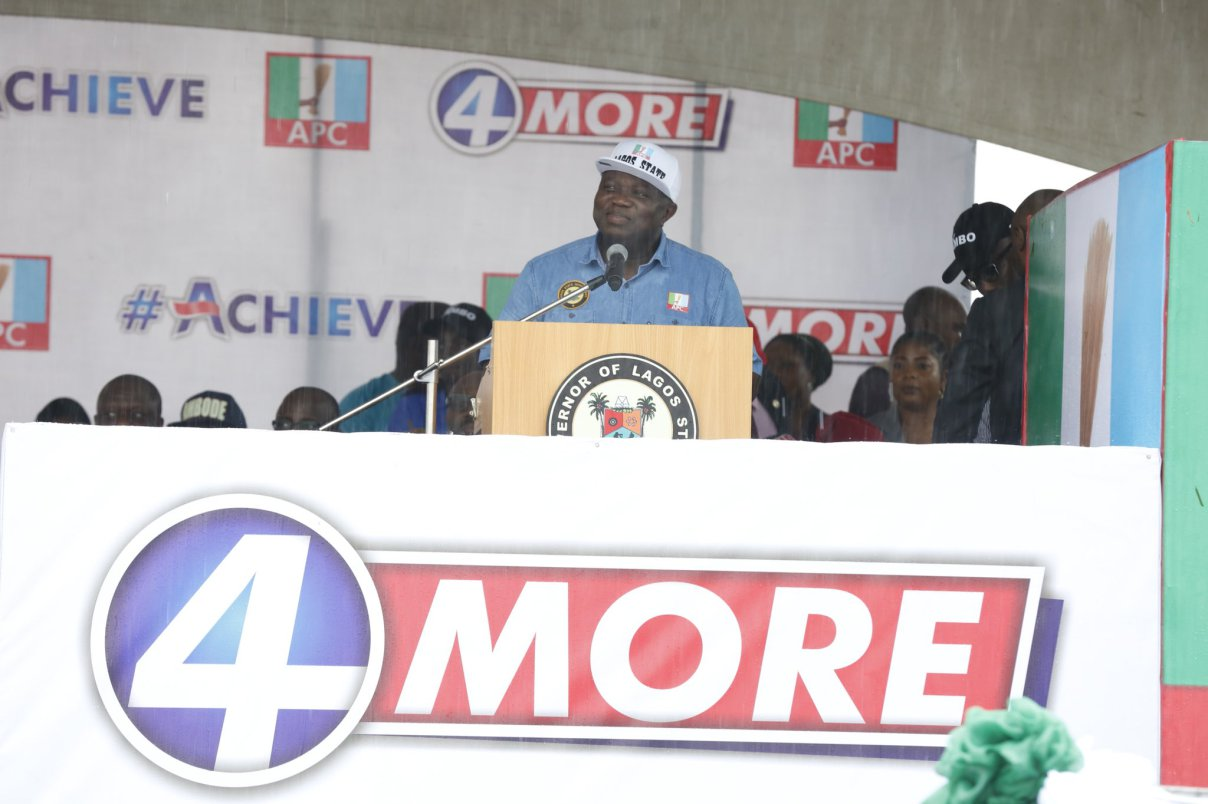 JUST IN: Ambode submits APC governorship form