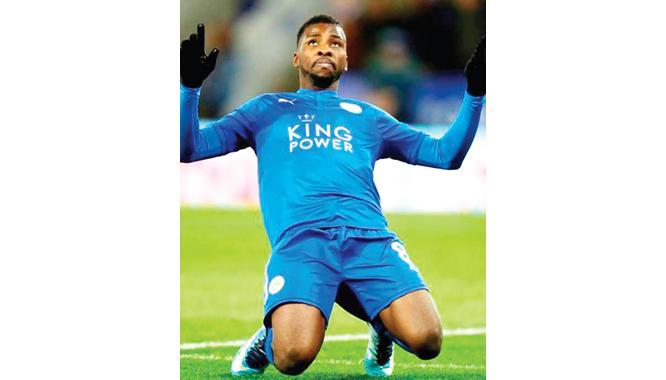 Iheanacho scores as Leicester bury Villa