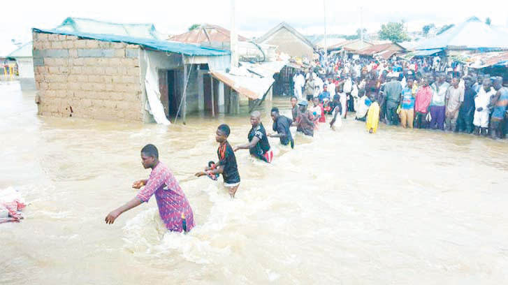 Flood: Philanthropist donates relief materials to Bayelsa flood victims