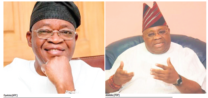 Gladiators tussling for Osun votes