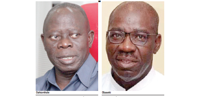 Obaseki blames Oshiomhole for Edo Assembly crisis