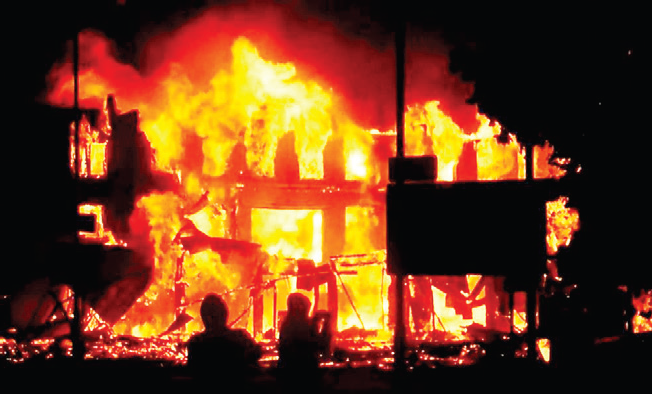 Fire destroys 140 shelters in Borno IDPs camp