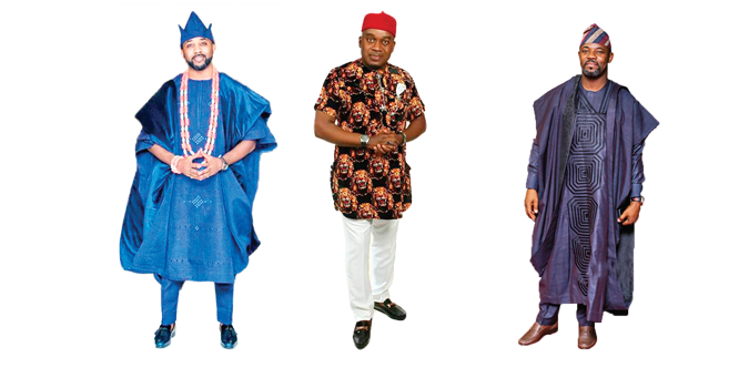 Stylish in traditional outfits