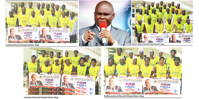 All roads lead to The Lord's Chosen Crusade in Abuja