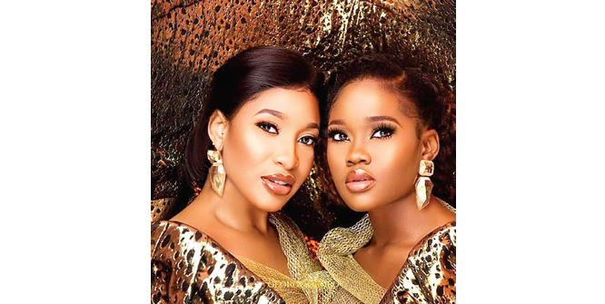 Trending news of the week: Tonto Dikeh and Cee-C dazzle in photoshoot by George Okoro