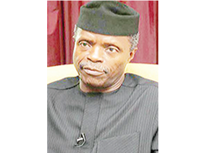 FG committed to improved standard of living for Nigerians –Osinbajo