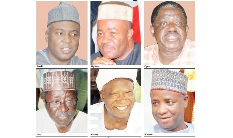 Senate: Scorecard of ex-governors