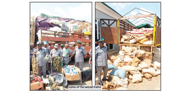 Customs seizes rifles, 4,375 ammunition, military camouflage
